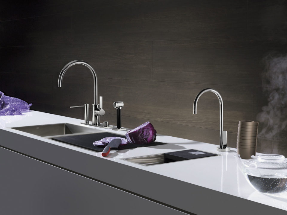Water Dispenser Dornbracht, acqua calda e filtrata all'istante Ciani Casa Design